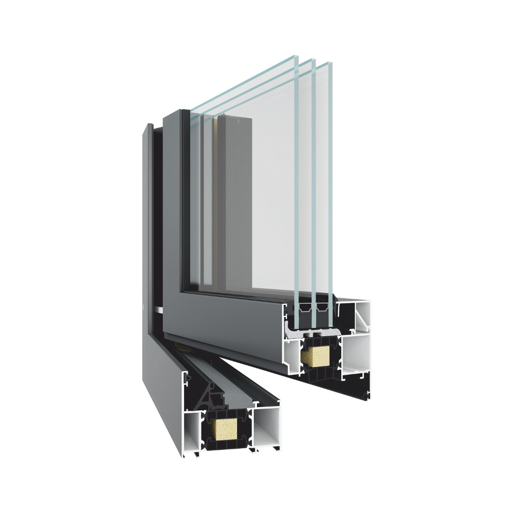 Systemy okienno-drzwiowe z izolacją termiczną